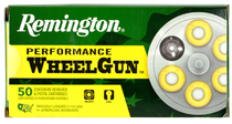 Remington Performance WheelGun 38 Special 158gr, Lead Round Nose, 50rd Box