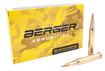 Berger Tactical 300 Win Mag 215gr, Hybrid Open Tip Match Tactical, 20rd Box