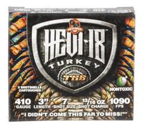 "Hevishot Hevi-18 Turkey TSS 410 Ga, 3"", 13/16oz, 7 Shot, 5rd Box"