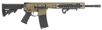 """LWRC Individual Carbine Direct Impingement 5.56 NATO 16.10"""",  Black 6 Position Synthetic Stock Flat Dark Earth Anodized Steel Receiver,  30 rd"""