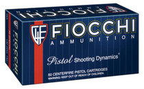 Fiocchi .38 Spl, 130 Gr, FMJ, 50rd/Box