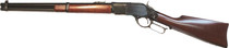 "Cimarron U.S. Marshal Indian Territory Carbine, Saddle Ring, 44 Special, 18.5""Barrel, Walnut, Blued, 9rd"