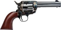 "Cimarron Frontier 44-40 Winchester, 4 3/4"" Barrel, Color Casehardened, Blued, Walnut, 6rd"