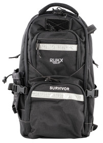 ATI RUKX Gear Survivor Backpack, Stores ATI Nomad In Rear Pocket, Black