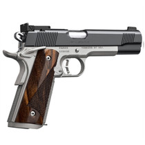 "Kimber Super Match II Custom Shop 45 ACP, 5"". 8rd, Rosewood Grips, Stainless Steel"