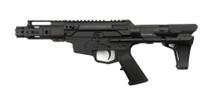 "MCM Firearms DS9-S Side Charging Pistol, 9mm, 4.5"" Barrel, MP5 Magazine, Black Cerakote"