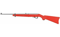 "Ruger 10/22 .22LR, 18.5"" Barrel, Takedown, Red, Stainless"