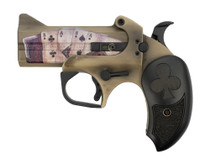 Bond Arms Dead Man's Hand, .45 LC / .410 Ga, Distressed Sand Cerakote