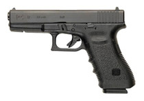 "Glock G17 Gen3 AUS 9mm, 4.48"" Barrel, Fixed Sights, Black, 17d"