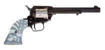 "Heritage Rough Rider 2-Tone Liberty .22 LR, 6.5"" Barrel, SS/Black, 6rd"