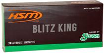 HSM 221 Rem. Fireball 55gr, Blitzking Varmint, 20rd Box