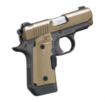 Kimber Micro 9 Desert Tan Crimson Trace Laser Grip, 2 Mags 6/7 rd Mags