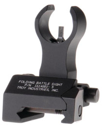 Troy Front HK Style Folding BattleSight - Black