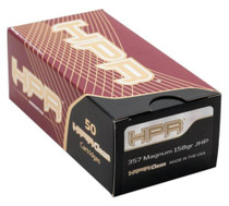 HPR Ammunition Hyperclean Defensive .357 Mag 158 Gr, Xtp Hollow Point, 50rd/Box