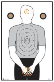 Looper Law Enforcement Politically Incorrect Ladies Target, 23x35 Inches