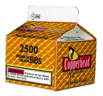 Crosman CopperHead BBs .177 Copper-coated Steel, 2500/Carton