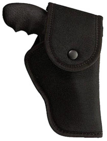 """Uncle Mike's Hip Holster 53-2, Smith & Wesson 5"""", Black Nylon, Left Hand"""