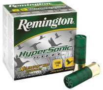 "Remington HyperSonic Steel 12 Ga, 3"", 1-1/4oz, 3 Shot, 25rd/Box"