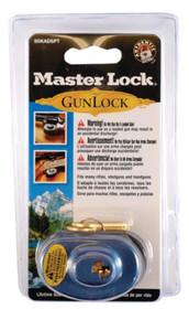 Master Lock Gun Lock Keyed Alike (P104) Black/Blue