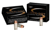 Speer Gold Dot .327 Fed Mag 100gr, Gold Dot Hollow Point, 20rd/Box, 25 Box/Case