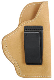 Blackhawk Suede Leather Angle Adjustable ISP Holster for Glock 26/Ruger LC9 and other Sub-Compact 9mm/.40 Caliber Right Hand Brown