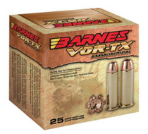 Barnes Ammunition VOR-TX Handgun Hunting .357 Mag 140gr XPB 20rd/Box