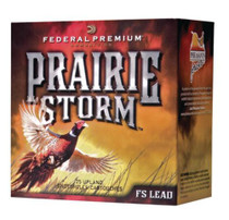 "Federal Premium Prairie Storm FS Lead 20 Ga, 3"", 1300 FPS, 1.25oz, 4 Shot 25 Per Box"