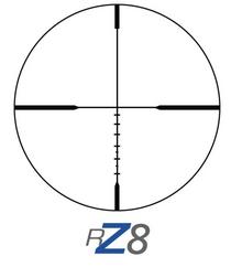 "Ziess Terra 3X Scope 4-12x42 RZ8 Ranging Reticle, 1"" Tube, Hunting Turrets#2"