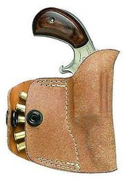 NAA Pocket Holster 22 Magnum Frame Black Leather