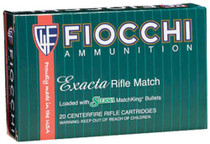 Fiocchi Exacta .30-06 Spring 168gr, Sierra MatchKing Boat-Tail Hollowpoint, 20rd/Box