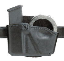 Safariland 573 Holds 1 Mag & 1 Pair Cuffs Black Suede