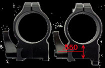 CZ 30Mm Quick Detach High Gloss Scope Rings For CZ 550