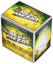"HEVI-Shot HEVI-Metal Waterfowl 10 Ga, 3.5"", 1-3/4oz, 4 Shot, 25rd/Box"