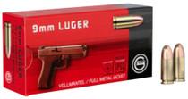 Ruag Geco 9mm 124gr, Full Metal Jacket, 50rd/Box, 20 Box/Case