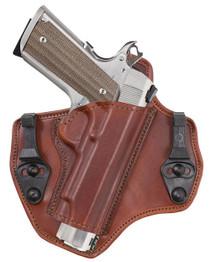 Bianchi 135 Suppression 1911 IWB Holster, Leather, RH, Tan