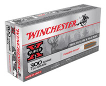 Winchester Super X 300 Savage Power-Point 150gr, 20Box/10Case