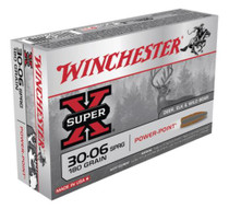Winchester Super-X .30-06 180 Gr, Power-Point, 20rd Box