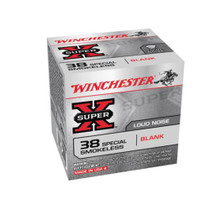 Winchester Super X Blank 38 Special 50rd Box - Not Ammo, These Are Blanks