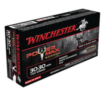 Winchester Power-Max .30-30 Winchester 150 Grain Protected Hollow Point Bonded 20rd Box