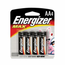 Energizer Max AA, 4 Pack