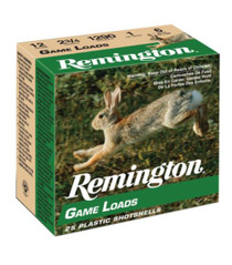 "Remington Game Loads 20 Ga, 2.75"", 1225 FPS, .875oz, 6 Shot"