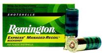 Remington Express Managed Recoil Buckshot 12 ga 2.75 8 Pellets 00 Buck Shot 5rd Box