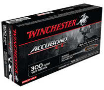 Winchester Supreme 300 Win Short Mag AccuBond CT 180gr, 20rd Box