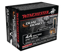 Winchester Dual Bond .44 Remington Magnum 240gr Dual Bond 20rd Box