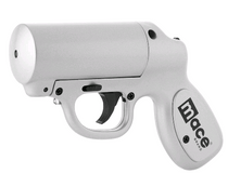 Mace Pepper Gun, Silver Color