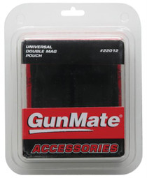 Uncle Mike's GunMate Universal Double Mag Pouch Black