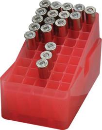 MTM Case Gard E-50 Slip-Top Boxes .45 Auto Red