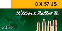 Sellier and Bellot 8X57jrs 196 HPC 20Rd/Box