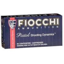 Fiocchi 9mm, 158 Gr, FMJ, 50rd/Box