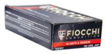 Fiocchi Shooting Dynamics .40 S&W 165gr, Jacketed Hollow Point 50rd Box